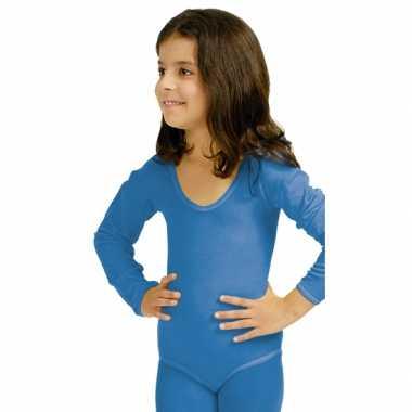 Blauwe kinderbody morphsuit kopen
