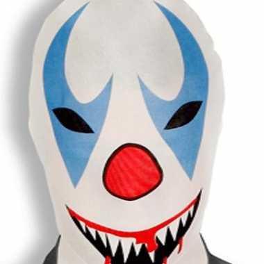 Horror masker Morphsuit Killer Clown kopen