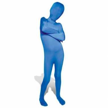 Kinder morphsuit blauw kopen