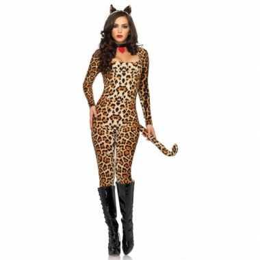 Leg Avenue sexy luipaard catsuit oortjes morphsuit kopen