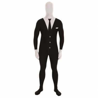 Morphsuit businessman zwart kopen