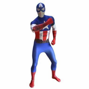 Morphsuit Captain America kopen