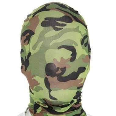 Morphsuit maskers camouflage kopen
