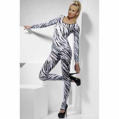 Morphsuit zebra dames kopen