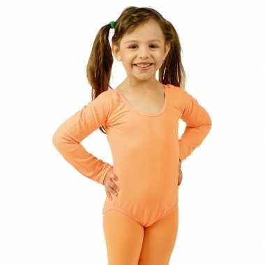 Oranje kinderbody morphsuit kopen