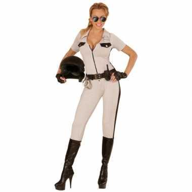 Politie morphsuit USA dames kopen