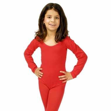 Rode kinderbody morphsuit kopen