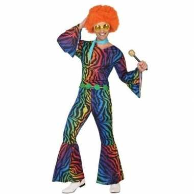 Seventies/disco morphsuit heren kopen
