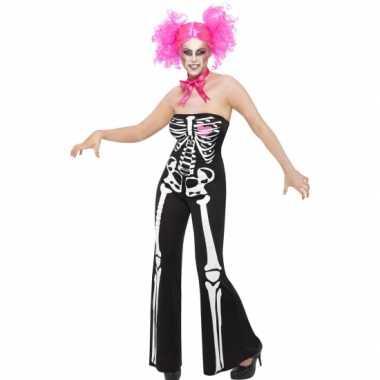 Skelet dames morphsuit kopen