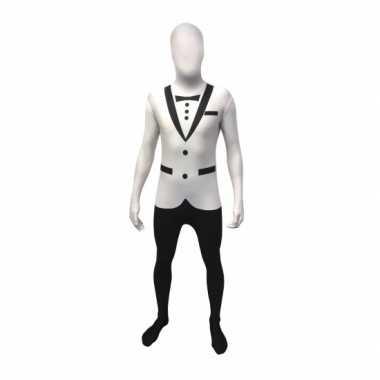 Tuxedo morphsuit wit kopen
