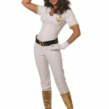 Witte marine morphsuit dames kopen