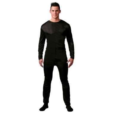 Zwarte body mannen morphsuit kopen